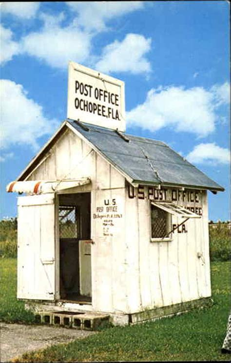 smallest post office in u s everglades national park