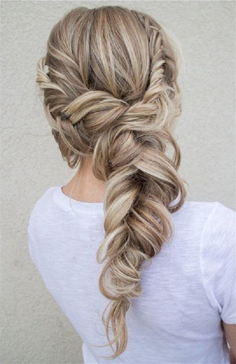 hairstyles to do with plaited extensions 25 best ideas about fishtail braid wedding on pinterest