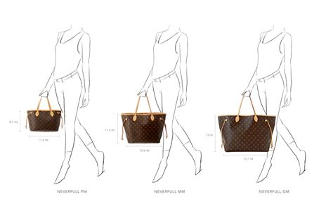 shoe size chart louis vuitton size matters your guide to the louis vuitton neverfull tote