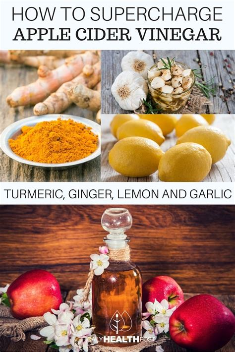 Apple Cider Vinegar And Turmeric Detox by How To Supercharge Apple Cider Vinegar With Turmeric