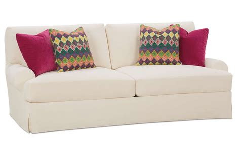 couch with slipcover t shaped sofa slipcovers thesofa