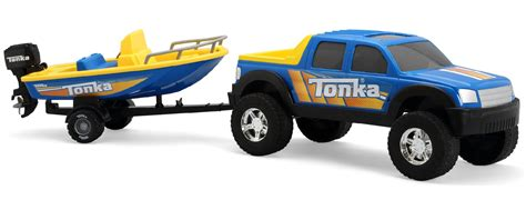 truck and boat trailer games tonka tonka off road 4x4 hauler with boat toys games