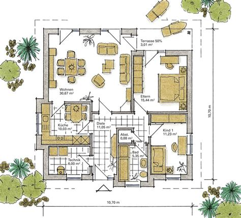 wohnzimmer quadratisch grundriss grundriss bungalow quadratisch speyeder net