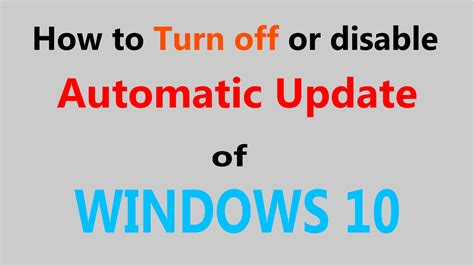 windows 10 tip how to turn off bing web search in start how to turn off or disable automatic update of windows 10