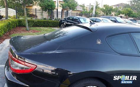 maserati coupe 2012 2012 2017 maserati granturismo coupe rear window spoiler