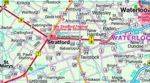stratford ontario canada map visit and explore stratford ontario canada tourism