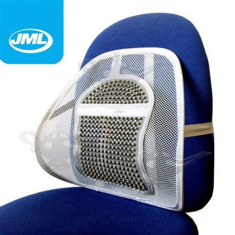 Mesh Chair Back Support by Jml Sit Right Comfort Mesh Office Chair Seat Lumbar Back