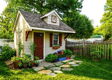 Barn Style Shed 40 Simply Amazing Garden Shed Ideas