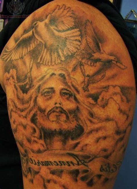 religious shoulder tattoos for men 55 amazing christian shoulder tattoos