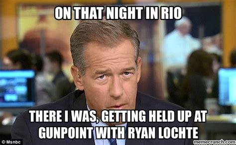 Ryan Lochte Meme - brian ryan