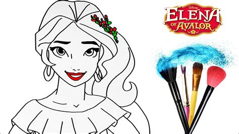 draw and color how to draw color of avalor drawing disney