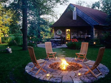 best lights for the backyard sitting area 10 design ideas for an outdoor fire pit