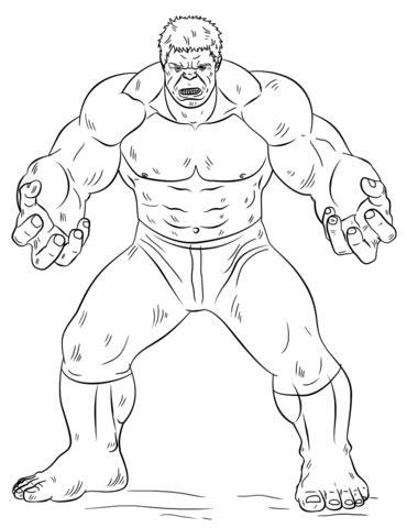 hulk hand coloring page coloriage hulk coloriages 224 imprimer gratuits