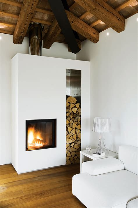 Farmhouse Fireplace by Renovated Farmhouse In The Countryside Spells Luxury