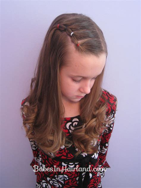 toddler hairstyles growing out bangs bang pull back puffy braids on the side great if you re