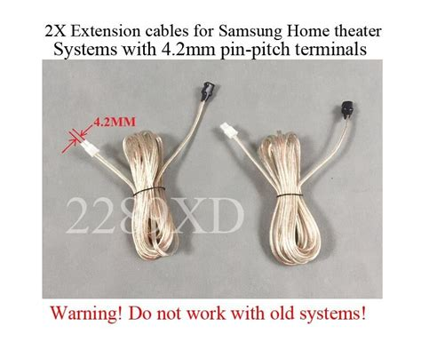 ft speaker extension cableswires   samsung