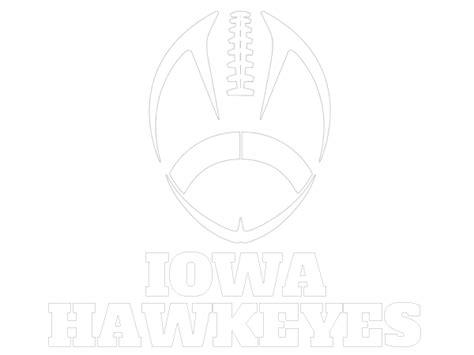 printable iowa hawkeyes coloring sheet