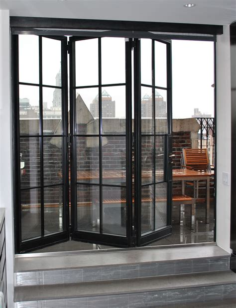 Door With Windows by Steel Windows And Doors Usa Folding Doors