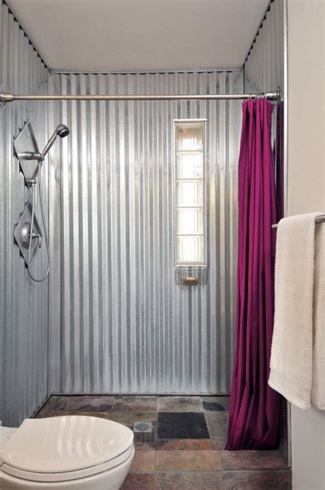 Aluminium Home Decor by 25 Best Ideas About Galvanized Shower On