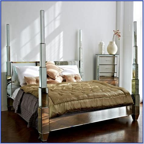 Mirrored Canopy Bed Mirrored Canopy Bed Dreamy Daybed Bedroom Antique Wood Canopy Bed With Carved Frames Rustic