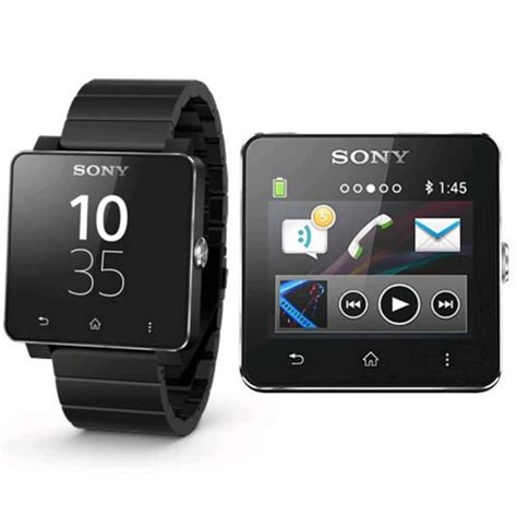 Dan Spek Sony Smartwatch 2 sony smartwatch sw2 metal wristband