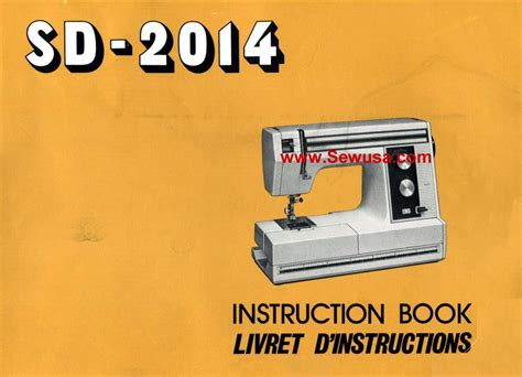 new home model sd 2014 sewing machine manual