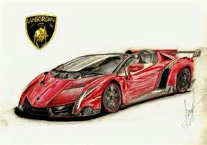 How To Draw Lamborghini Veneno Sketch Lamborghini Veneno Roadster