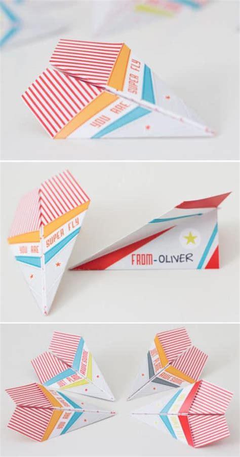printable paper airplane card 16 creative kids valentine ideas pretty my party