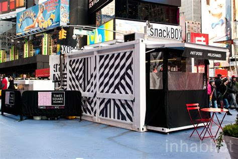 Kitchen Furniture Toronto snackbox reinvents the street food stand with a recycled