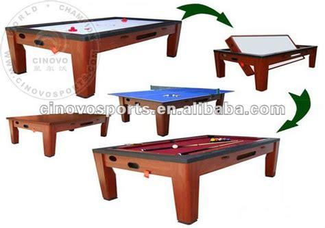 multi use pool table multi table spin around pool table air hockey table