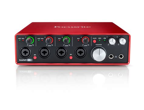 Focusrite 2nd Soundcard Audio Interace focusrite 18i8 2nd 18 in 8 out usb 2 0 audio interface ebay