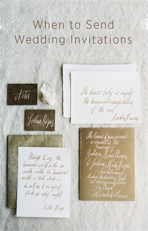 when to send wedding invites when do i send out wedding invitations oncewed