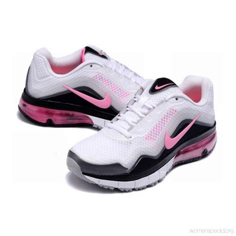 nike running shoes black and pink womens nike air max tr 180 running shoes white black pink