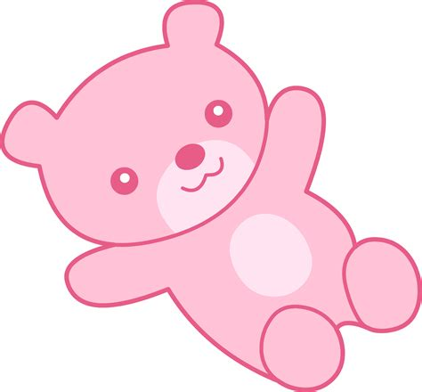 light pink teddy bear cute pink teddy bear clipart free clip art