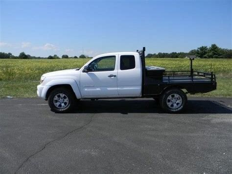 Toyota Flatbed For Sale Buy Used Toyota Tacoma Trd Flatbed 4x4 V 6 Auto Extended