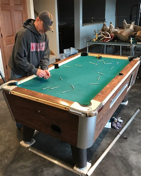 twin cities pool table guy servicespool table repair