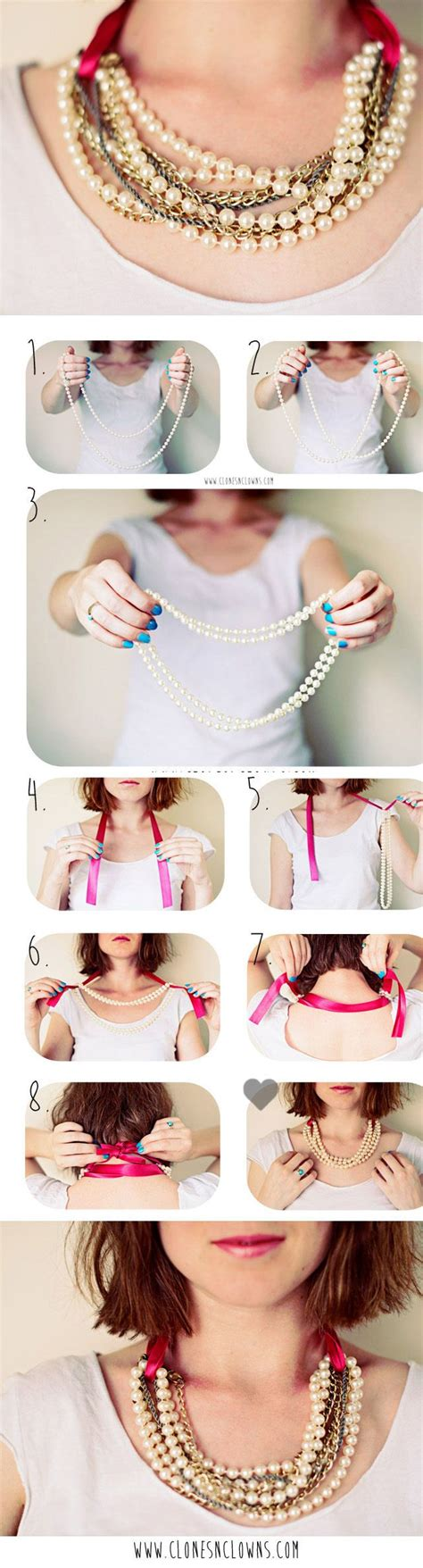 pearl diy diy pearl necklace in 3 minutes diy craft crafts craft