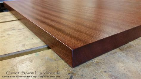 Wood Table Gul TitleHard