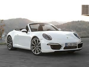 Porsche 911 Cabriolet White Porsche 911 Cabriolet Lease Deals Convertible