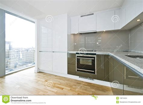 modern fitted kitchens modern fully fitted kitchen stock images image 13874454