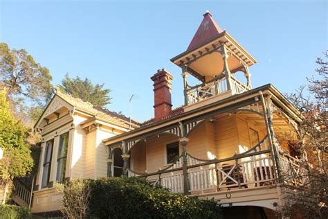 turret on a house bed and breakfast turret house launceston australia