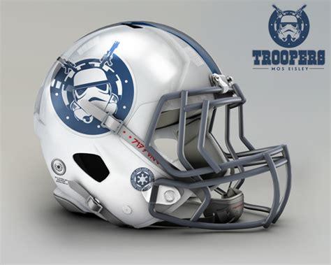 nfl helmet design rules nfl helmets receive star wars treatment with mash up