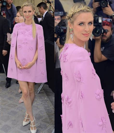 Frock Horror Of The Week Hiltons Chemise Wearing Lunch Date by Rock Millennial Pink Trend In Beautiful Blush