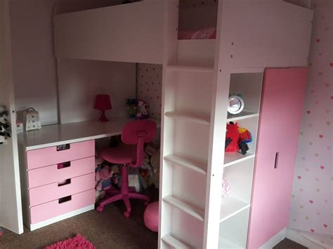 ikea loft bed with desk ikea loft bed kura