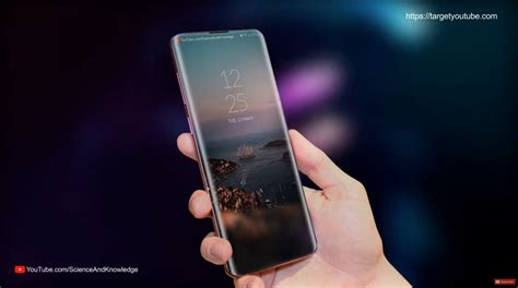 Samsung Galaxy S10 Target by Samsung Galaxy S10 Also Rendered By Targetyoutube With 3 Back Cameras Curved Screen Concept