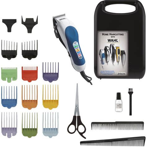 color pro wahl color pro 20 pc color coded haircutting kit hair