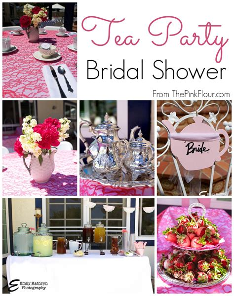 Tea Themed Bridal Shower by Tea Themed Bridal Shower Favors Theme Decoration