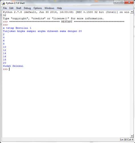 tutorial python bahasa indonesia loops dan conditional dalam python tutorial 5 buku