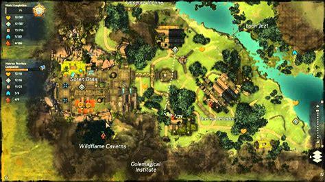 gw2 metrica province map guild wars 2 metrica province vista points tutorial