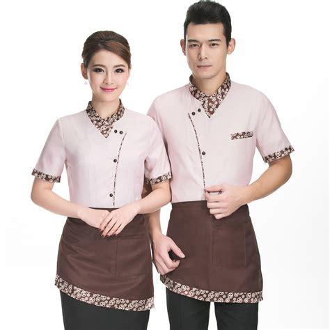 design manager indonesia hotel pelayan dan pelayan seragam musim panas perempuan